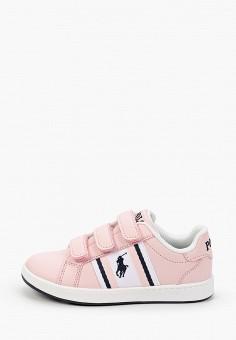 Кеды, Polo Ralph Lauren, цвет: розовый. Артикул: PO006AGIVDA2.