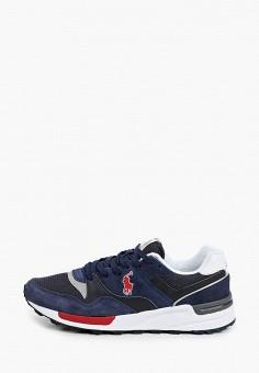 Кроссовки, Polo Ralph Lauren, цвет: синий. Артикул: PO006AMJBTJ4.