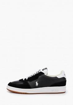 Кроссовки, Polo Ralph Lauren, цвет: черный. Артикул: PO006AMJBTJ8.