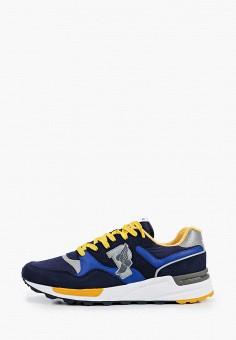 Кроссовки, Polo Ralph Lauren, цвет: синий. Артикул: PO006AMJBTJ9.
