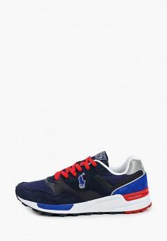 Кроссовки, Polo Ralph Lauren, цвет: синий. Артикул: PO006AMJBTK2.