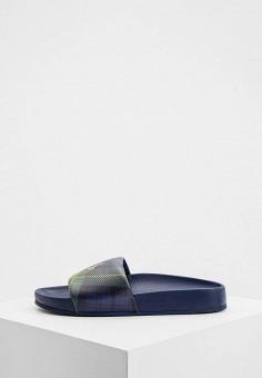 Сланцы, Polo Ralph Lauren, цвет: синий. Артикул: PO006AMJGID9.