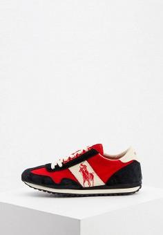 Кроссовки, Polo Ralph Lauren, цвет: красный. Артикул: PO006AMJGIE4.