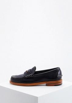 Лоферы, Polo Ralph Lauren, цвет: черный. Артикул: PO006AWFNBT4.