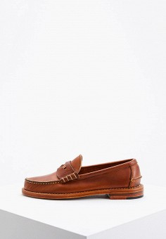 Лоферы, Polo Ralph Lauren, цвет: коричневый. Артикул: PO006AWFNBT5. Обувь / Туфли