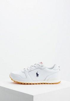 Кроссовки, Polo Ralph Lauren, цвет: белый. Артикул: PO006AWFNBU1.