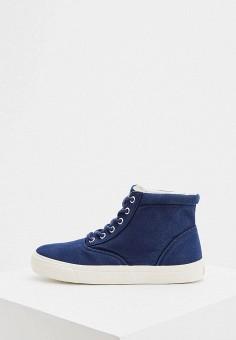 Кеды, Polo Ralph Lauren, цвет: синий. Артикул: PO006AWHTRA9.