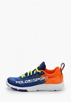 Кроссовки, Polo Ralph Lauren, цвет: синий. Артикул: PO006AWJBTM4.