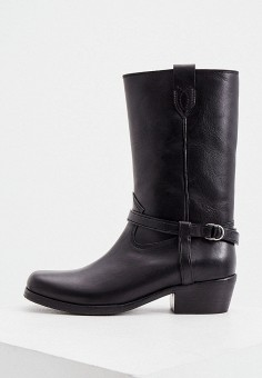 Сапоги, Polo Ralph Lauren, цвет: черный. Артикул: PO006AWKGNG6.