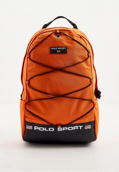 Рюкзак, Polo Ralph Lauren, цвет: оранжевый. Артикул: PO006BMHUDG6. Аксессуары / Рюкзаки