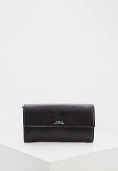Кошелек, Polo Ralph Lauren, цвет: черный. Артикул: PO006BWHTQZ9. Premium
