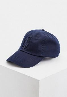 Бейсболка, Polo Ralph Lauren, цвет: синий. Артикул: PO006CMHTQU6. Аксессуары / Головные уборы