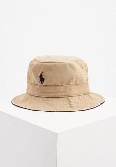 Панама, Polo Ralph Lauren, цвет: бежевый. Артикул: PO006CMJRID6.