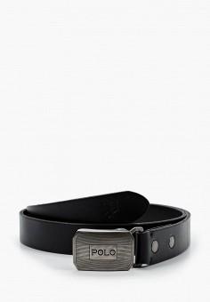 Ремень, Polo Ralph Lauren, цвет: черный. Артикул: PO006DMHUDI2.