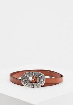 Ремень, Polo Ralph Lauren, цвет: коричневый. Артикул: PO006DWHTQV5.
