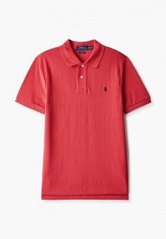 Поло, Polo Ralph Lauren, цвет: красный. Артикул: PO006EBHTTU3.