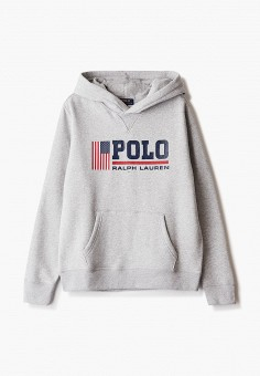 Худи, Polo Ralph Lauren, цвет: серый. Артикул: PO006EBJRIE0.