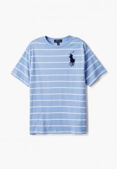 Футболка, Polo Ralph Lauren, цвет: голубой. Артикул: PO006EBJRIE1.