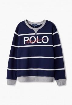 Свитшот, Polo Ralph Lauren, цвет: синий. Артикул: PO006EBJRIE7.