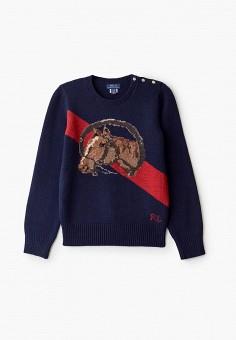 Джемпер, Polo Ralph Lauren, цвет: синий. Артикул: PO006EGGGLA6.