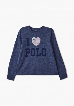 Джемпер, Polo Ralph Lauren, цвет: синий. Артикул: PO006EGGGLA7.