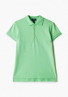 Поло, Polo Ralph Lauren, цвет: зеленый. Артикул: PO006EGHUDD2.