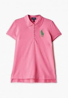 Поло, Polo Ralph Lauren, цвет: розовый. Артикул: PO006EGHUDD4.