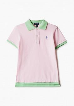Поло, Polo Ralph Lauren, цвет: розовый. Артикул: PO006EGHUDD6.