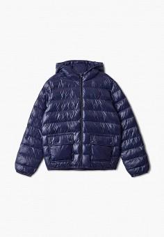 Куртка утепленная, Polo Ralph Lauren, цвет: синий. Артикул: PO006EGJRIF3.