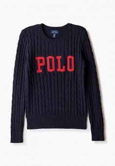 Джемпер, Polo Ralph Lauren, цвет: синий. Артикул: PO006EGJRIF5.