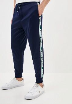 Брюки спортивные, Polo Ralph Lauren, цвет: синий. Артикул: PO006EMGGLJ0.