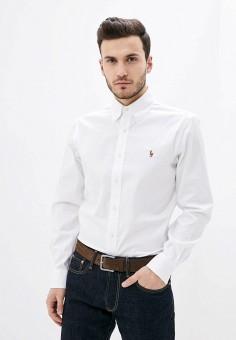 Рубашка, Polo Ralph Lauren, цвет: белый. Артикул: PO006EMHTRE5.