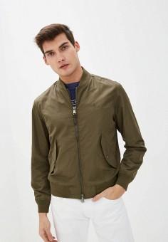 Куртка, Polo Ralph Lauren, цвет: хаки. Артикул: PO006EMHTZQ1. Одежда / Верхняя одежда