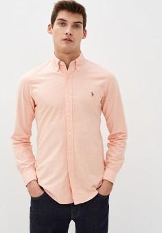 Рубашка, Polo Ralph Lauren, цвет: коралловый. Артикул: PO006EMHTZR5.