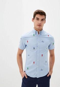 Рубашка, Polo Ralph Lauren, цвет: голубой. Артикул: PO006EMHTZS1.