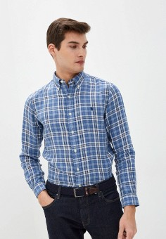 Рубашка, Polo Ralph Lauren, цвет: синий. Артикул: PO006EMHTZS6.