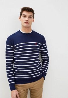 Джемпер, Polo Ralph Lauren, цвет: синий. Артикул: PO006EMHTZT6. Одежда / Джемперы, свитеры и кардиганы / Джемперы и пуловеры