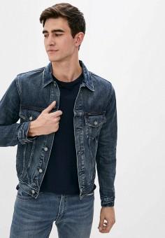 Куртка джинсовая, Polo Ralph Lauren, цвет: синий. Артикул: PO006EMIHDQ6. Одежда / Верхняя одежда / Джинсовые куртки