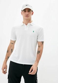 Поло, Polo Ralph Lauren, цвет: белый. Артикул: PO006EMJRJO3.
