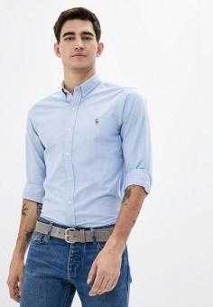 Рубашка, Polo Ralph Lauren, цвет: голубой. Артикул: PO006EMJRJU2.
