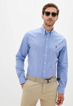 Рубашка, Polo Ralph Lauren, цвет: голубой. Артикул: PO006EMJTXT1.