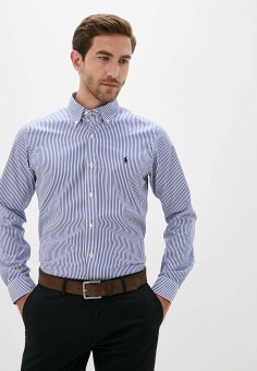Рубашка, Polo Ralph Lauren, цвет: синий. Артикул: PO006EMJTXT2.