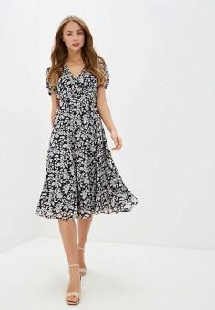Платье, Polo Ralph Lauren, цвет: синий. Артикул: PO006EWHTRO6.