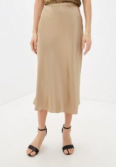 Юбка, Polo Ralph Lauren, цвет: бежевый. Артикул: PO006EWHTSP3. Одежда / Юбки