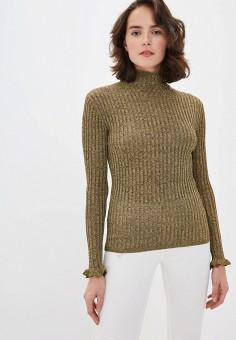 Водолазка, Polo Ralph Lauren, цвет: золотой. Артикул: PO006EWHTTC3. Одежда / Джемперы, свитеры и кардиганы / Водолазки