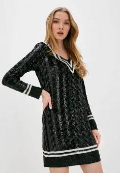 Платье, Polo Ralph Lauren, цвет: черный. Артикул: PO006EWHTYS0.