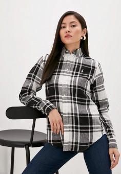 Рубашка, Polo Ralph Lauren, цвет: мультиколор. Артикул: PO006EWHTYU0. Одежда / Блузы и рубашки / Рубашки