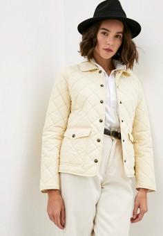Куртка утепленная, Polo Ralph Lauren, цвет: бежевый. Артикул: PO006EWJRIU4. Одежда / Верхняя одежда / Демисезонные куртки