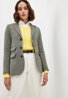 Пиджак, Polo Ralph Lauren, цвет: мультиколор. Артикул: PO006EWJRJK4.