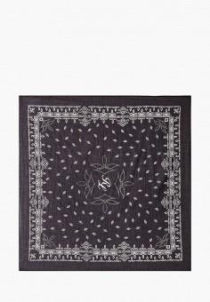 Платок, Polo Ralph Lauren, цвет: черный. Артикул: PO006GWJRIQ4. Аксессуары / Платки и шарфы